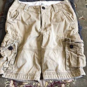 Abercrombie boys cargo shorts size 10